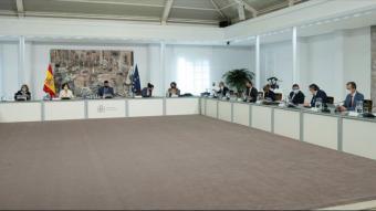 El Consell de Minsitres celebrat aquest dimarts