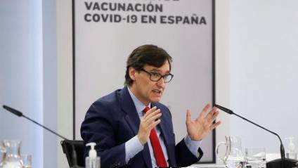 El ministre de Sanitat, Salvador Illa