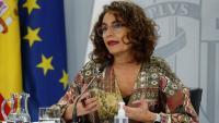 La ministra portaveu, María Jesús Montero, compareix en la roda de premsa posterior al Consell de Ministres
