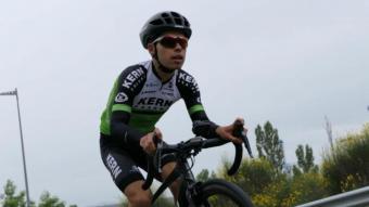 Roger Adrià, el ciclista més prometedor de l'equip