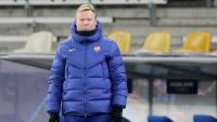 Koeman, en el partit contra el Dinamo de Kiev
