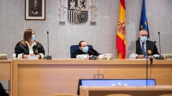 Imatge del magistrat Guevara durant el judici a l'Audiencia Nacional