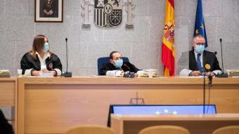 El tribunal del judici que se celebra a l'Audiencia Nacional