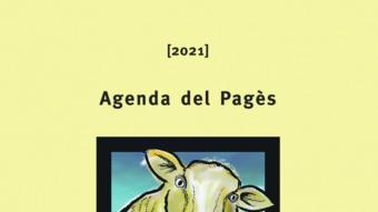 La portada de l'agenda de l'any vinent, amb un dibuix de Josep Duixans