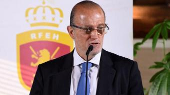 Santi Deó, president de la federació espanyola