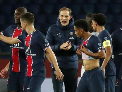 Tuchel intenta animar els seus futbolistes contra el Mònaco