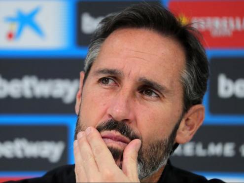 VIcente Moreno espera recuperar la bona dinàmica davant el Leganés.