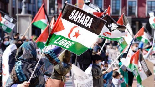 Una mobilització a favor del poble sahrauí a Valladolid