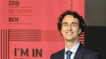 El president de l'Associació 22@Network BCN, Enric Urreta, en una imatge d'arxiu