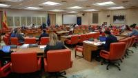 Un moment de la sessió de la comissió de Pressupostos del Congrés
