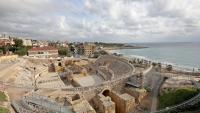 L'amfiteatre, la icona de Tàrraco, tancada.
