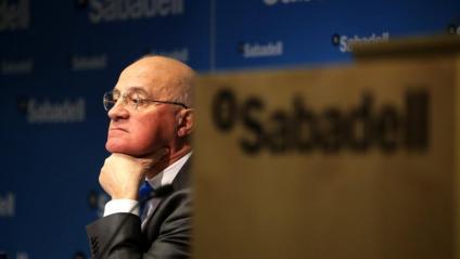 Josep Oliu, president del Banc Sabadell, en una imatge d'arxiu