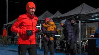 Kilian Jornet en un moment de la cursa
