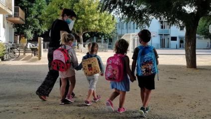 Nens en una escola