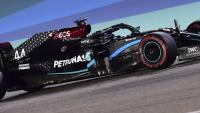 Lewis Hamilton en la qualificació del GP de Bahrain