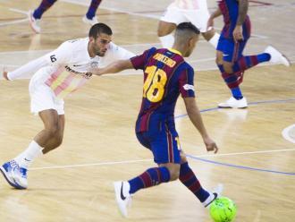 Imatge del recent Barça-Industrias Santa Coloma de la lliga