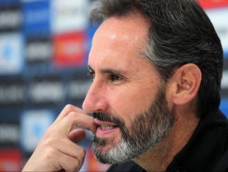 VIcente Moreno espera que el seu equip sumi els tres punts per trencar la mala ratxa.