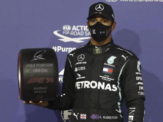 Hamilton va fer la posició preferent