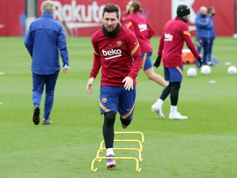 Leo Messi arriba descansat al partit d'avui després de no viatjar a Ucraïna