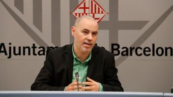 El vicepresident de l'àrea d'Ecologia de l'AMB i regidor d'Emergència Climàtica de l'Ajuntament de Barcelona, Eloi Badia
