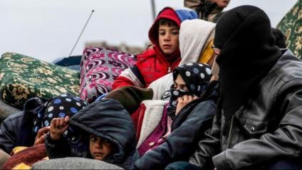 Una família a Síria