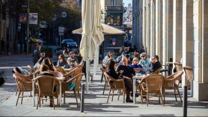 Terrasses a Girona