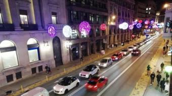 El projecte de reforma de Via Laietana inclou un carril a 30 km/h, d'ús compartit entre cotxes i bicis