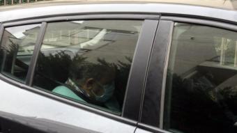 Radresa, detingut dins el cotxe dels Mossos