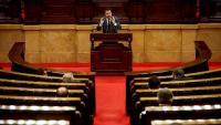El vicepresident Pere Aragonès al Parlament