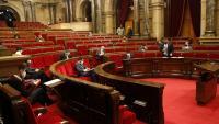 Ple del Parlament aquest matí