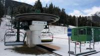 Telecadira de l'estació d'esquí de La Molina