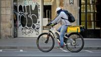 Un rider a Barcelona
