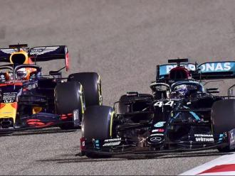 Hamilton per davant de Verstappen en les primeres voltes de la cursa
