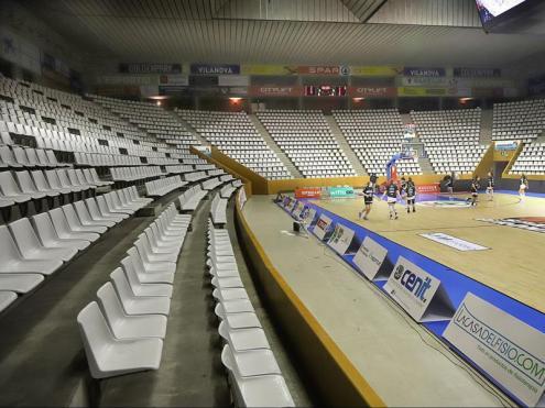 L'Uni confirma que no hi haurà públic a Fontajau en els partits d'Eurolliga