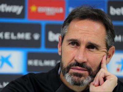 Vicente Moreno espera sumar una nova victòria davant el Cartagena demà.