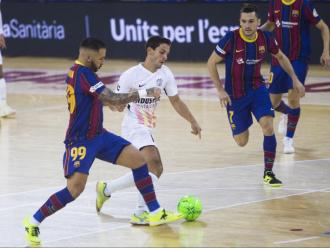 La copa del rei podria propiciar una final catalana si el Barça i l'Industrias Santa Coloma son capaços de resoldre amb victòria les semifinals
