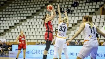 Vasic, en l'Spar-Riga, que es va jugar sense públic.