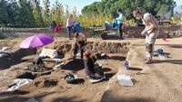 Pla general dels treballs arqueològics