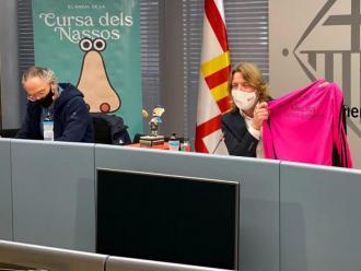 Un moment de la presentació de la cursa dels Nassos del 2020