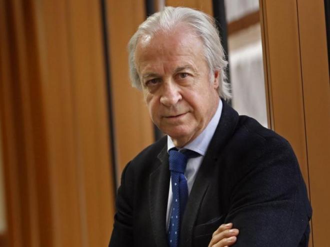 El president de la Junta Gestora del Barça, Carles Tusquets.