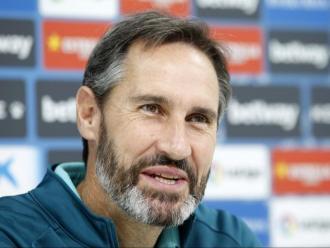 Vicente Moreno espera sumar la tercera victòria consecutiva davant l'Sporting de David Gallego.