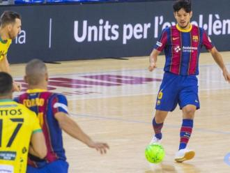 El Barça trenca la mala ratxa com a local