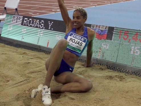 Yulimar Rojas va establir el rècord en la reunió de pista coberta de Madrid