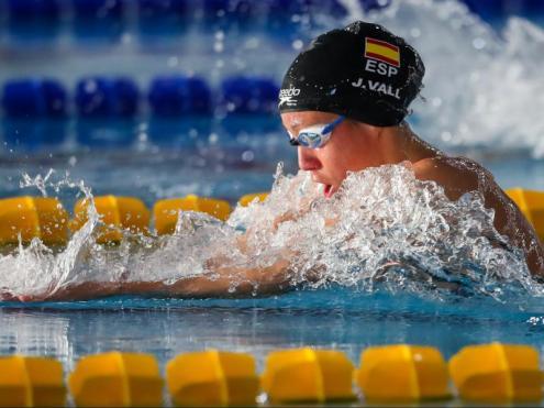 Jessica Vall , en els 200 m braça