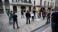Protesta autònoms a Girona a finals de 2020