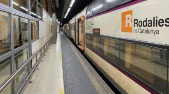 Una avaria de senyalització entre Sants i Plaça Catalunya provoca retards de mitja hora a l'R1, l'R3 i l'R4