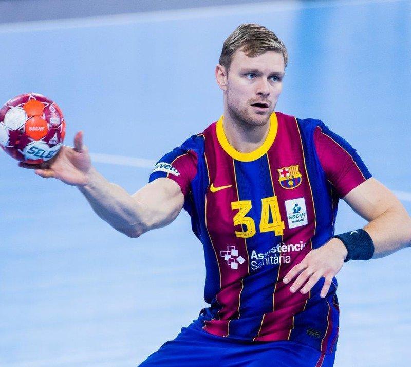 Preocupació per la lesió d'Aron Pálmarsson | X.A | barcelona / bidasoa | Handbol | L'Esportiu de Catalunya