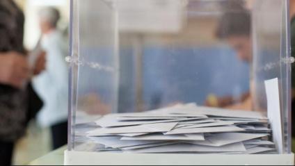 Una urna en unes eleccions