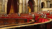 Imatge d'un ple del Parlament