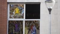 Una escola de Sabadell amb les finestres obertes
